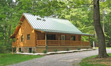 Log Cabin Design Plans by Simple Front Porch Log Cabin With Wrap Around Porch Log