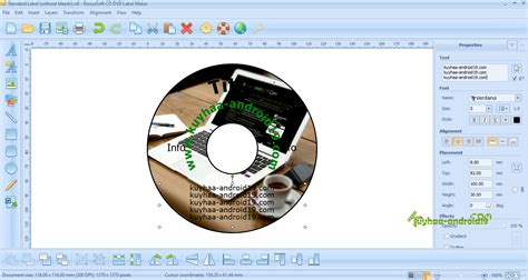 ronyasoft cd dvd label maker  terbaru kuyhaame