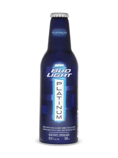 percentage in bud light percent of in bud light platinum