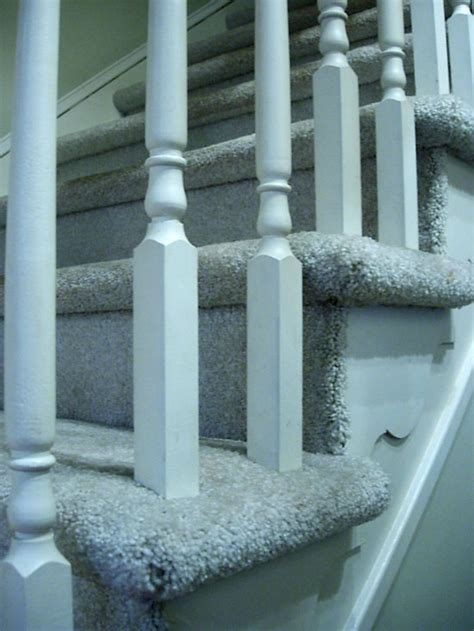 how to install carpet on stairs my foyer staircase makeover reveal in my own style