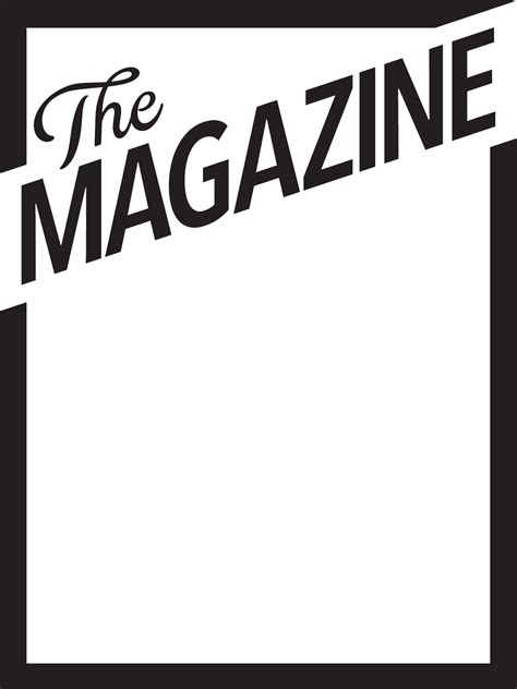 18 Blank Magazine Cover Design Images - Make Your Own ...