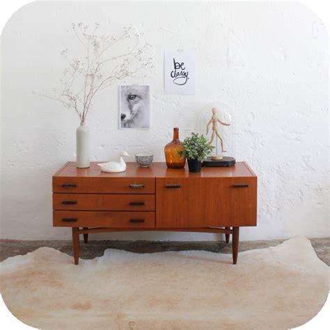 mobilier vintage enfilade scandinave vintage ann 233 es 60