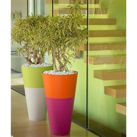 pot de fleurs design tokyo 36 grosfillex