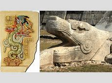 Kukulkan Feathered Serpent And Mighty Mayan Snake God