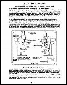 Cincinnati Bickford 21 24 And 28 Upright Drills Manual