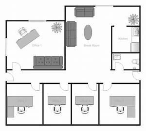 Example Image  Office Building Floor Plan