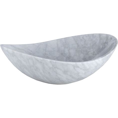 Home Depot Vessel Sink Oval by Ryvyr Oval Vessel Sink Basin In Carrara White