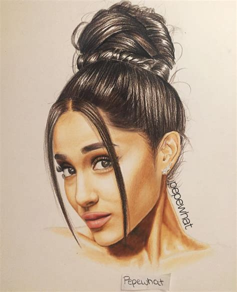 Pepewhat drawing Ariana Grande ️ Pinterest Drawings