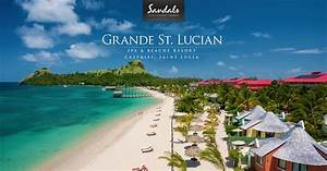 sandals grande st lucian spa beach resort gros islet st With st lucia honeymoon all inclusive