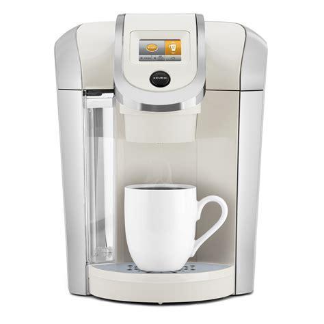 Keurig Plus Series K475 Brewer   Sandy Pearl   Appliances