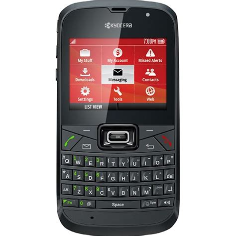 paylo cell phones paylo by mobile kyocera brio nocontract cell phone