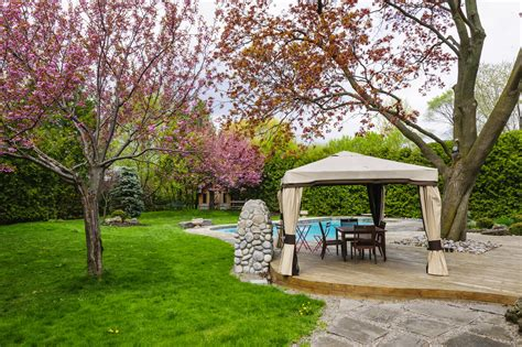Backyard Ideas For Summer by Landscaping Ideas For Summer Asphalt Materials