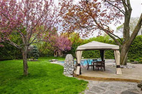 summer garden ideas landscaping ideas for summer parties asphalt materials
