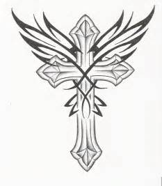 Cross Tattoo Designs Drawings