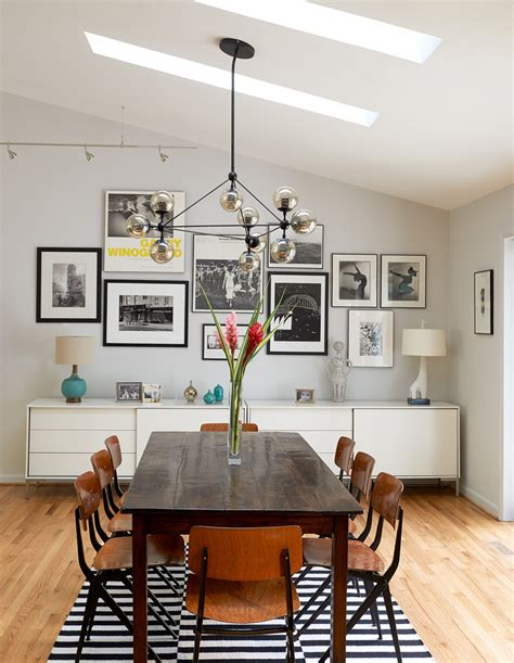 Fresh White Based Dining Spaces by Meals With These Delish Mid Century Modern