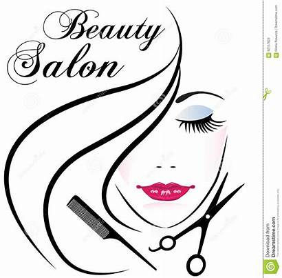 Salon Beauty Hair Face Woman Pretty Vector
