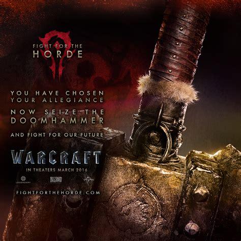 Warcraft 2016 Movie Doomhammer Poster Wallpaper