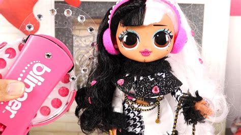 Led z nowym lol omg możesz urządzić prawdziwą imprezę w towarzystwie innych lalek! Poupées LOL OMG Winter Disco Paillettes Blinger - YouTube