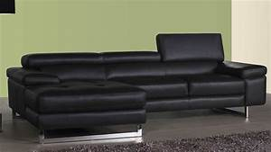 22 choices of large black leather corner sofas sofa ideas With black leather sectional sofa uk