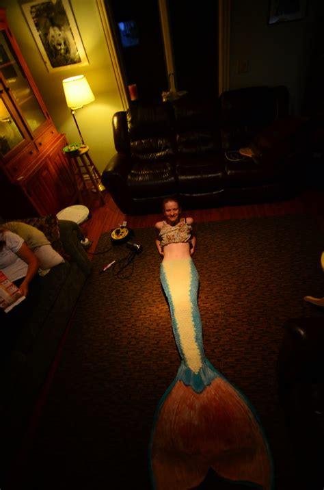 making  latex  neoprene mermaid tail themagpieswardrobe
