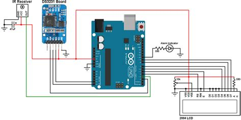 Arduino Rtc With Alarms Temperature Monitor
