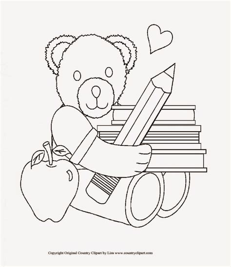 First Day Of School Coloring Pages Kidsuki
