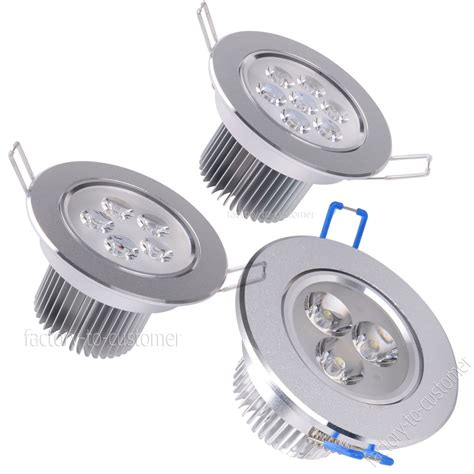 dimmable led recessed lights dimmable led recessed ceiling light downlight spotlight