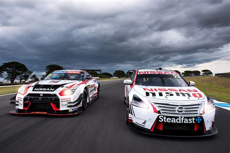nissan australia racing season gt  gt  supercars