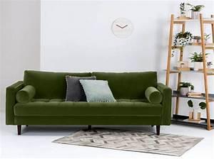 Salon Vert Olive Deco Salon Couleur Vert Pistache Papier