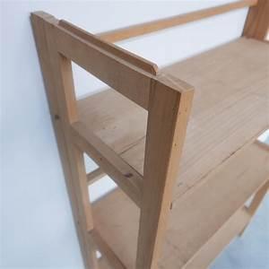Etagere Bois Design : etagere bois pliante ~ Teatrodelosmanantiales.com Idées de Décoration