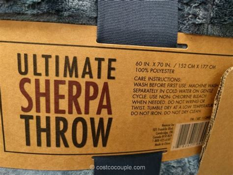 Life Comfort Ultimate Sherpa Throw (2017)