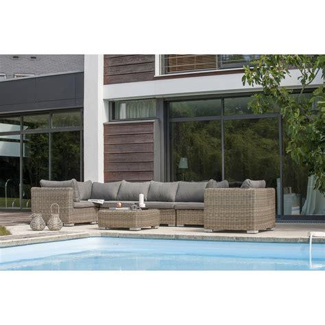 Salon de jardin leroy merlin salon exterieur en resine | Reference maison