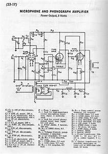 Microphone Preamp Schematic Diagram Rca Receiving Tube
