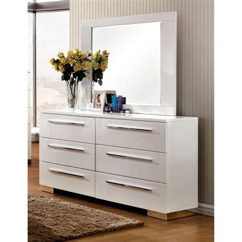 high gloss lacquer bedroom furniture furniture of america high gloss lacquer finish 6