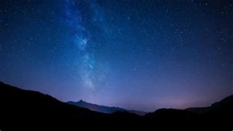 Milky Way Timelapse Stock Footage Video Definition