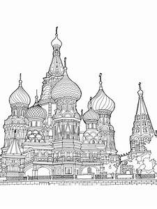 Ausmalbilder, Moskau