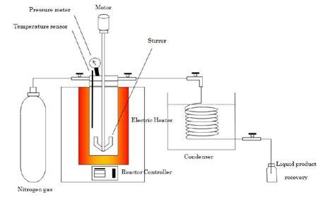schematic diagram   lab scale autoclave reactor