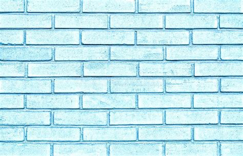 pastel blue aesthetic wallpaper light brick wall washed