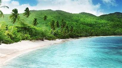 Tropical Beach Wallpapers Cool Background Seychelles Backgrounds