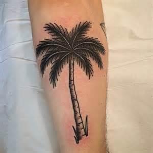 Palm Tree Tattoo