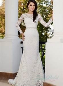jw15170 sexy backless long sleeves lace sheath wedding With long sleeve sheath wedding dress