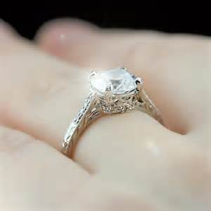 vintage wedding sets vintage antique engagement rings princess cut settings engagement rings