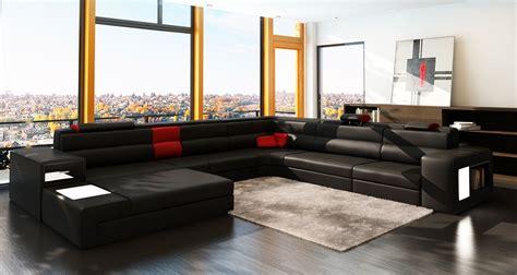grand canapé angle pas cher canapé panoramique lara design personnalisable pas cher