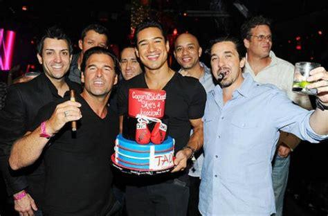 foodista mario lopez celebrates bachelor party