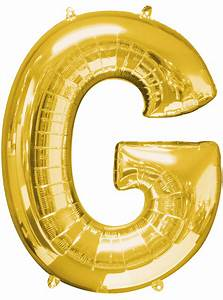 gold letter g balloon With buy letter balloons