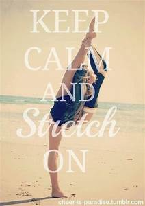 Needle stretch quote | Cheer | Pinterest | Keep calm ...