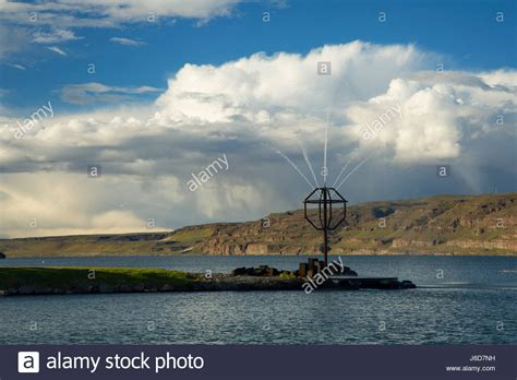 Columbia River Boat Launches by Wanapum Lake Stock Photos Wanapum Lake Stock Images Alamy
