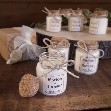 Candele Solidali by Country Wedding Favor Lid Cork Candle 2oz Wedding Favors