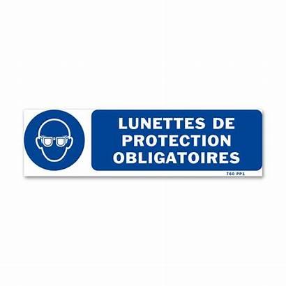 Protection Vision Picot Mandatory Signpost Signalisation Picto