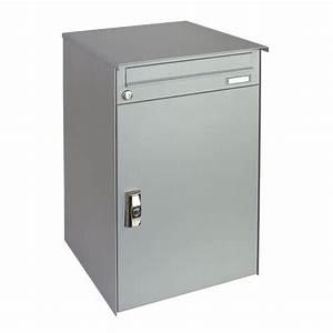 Mülltonnenbox Mit Paketbox : hochwertiger briefkasten mit paketbox bei hmf kaufen hmf ~ Michelbontemps.com Haus und Dekorationen
